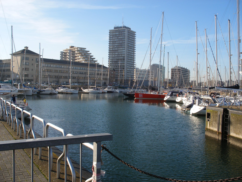 Oostende porto