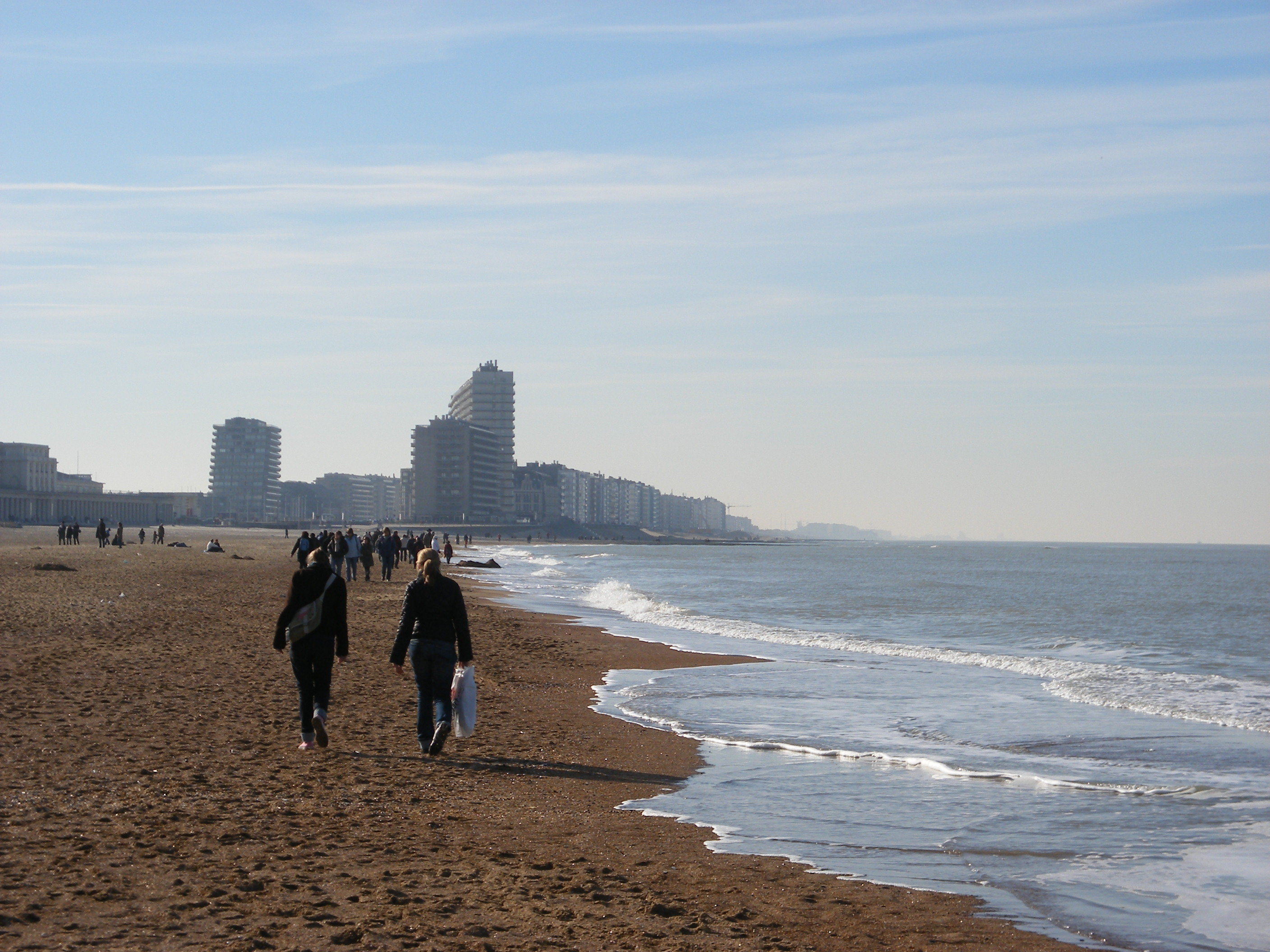 Oostende spiaggia