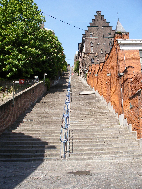 Liegi scalinata