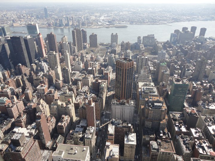 Panoramica dall'Empire State Building
