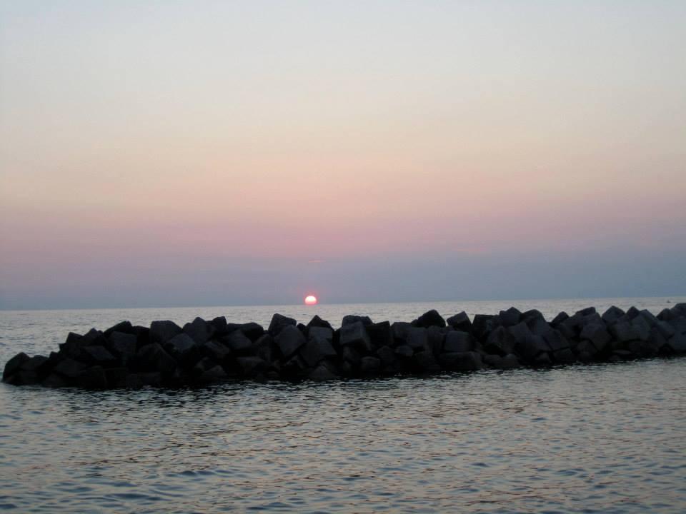 tramonto santa maria