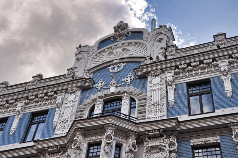 Art Nouveau District riga