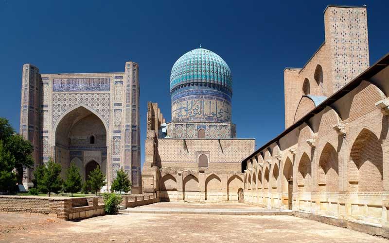 Bibi Khanym moschea samarcanda