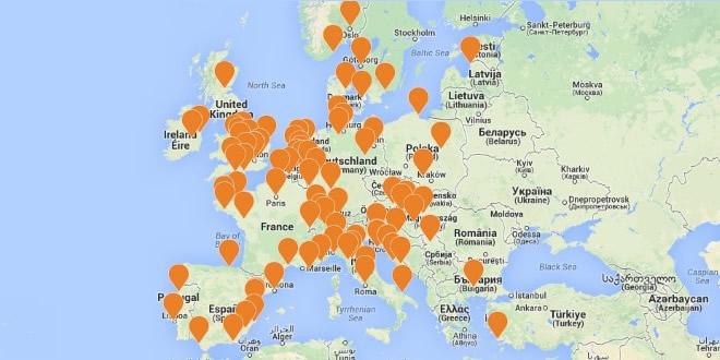 Festival Summer Map