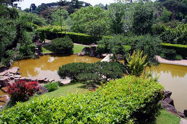 Apertura giardino giapponese Roma