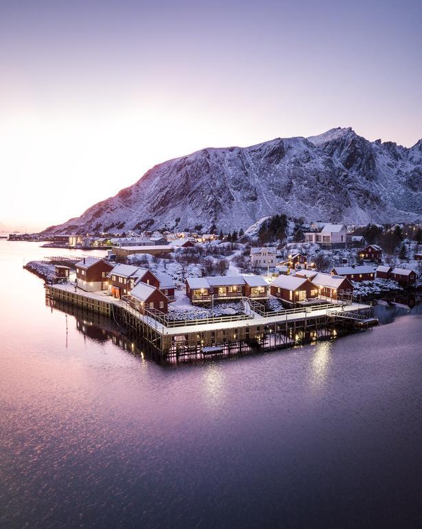 Hattvika Lodge Norvegia aurora boreale