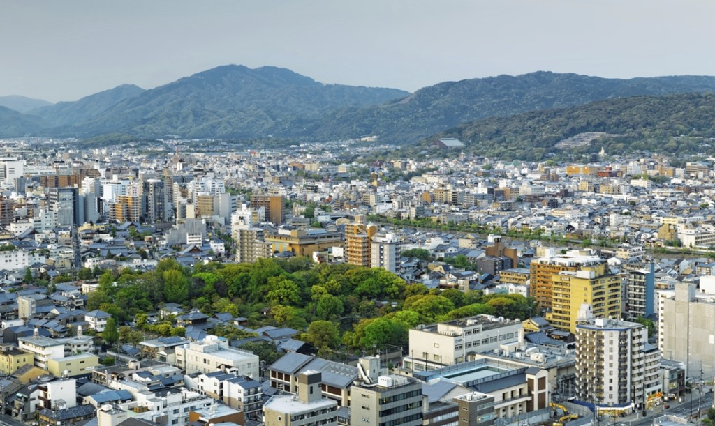 panoramica Kyoto