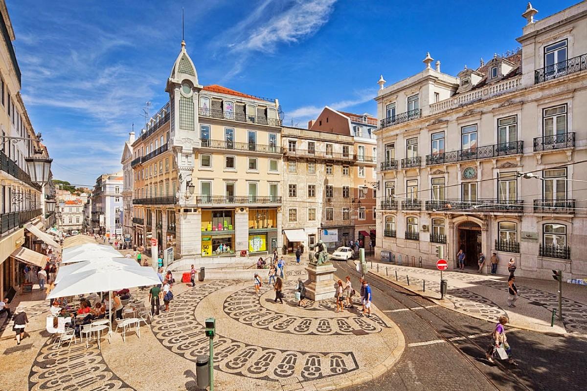 Lisboa Praça Luís de Camões