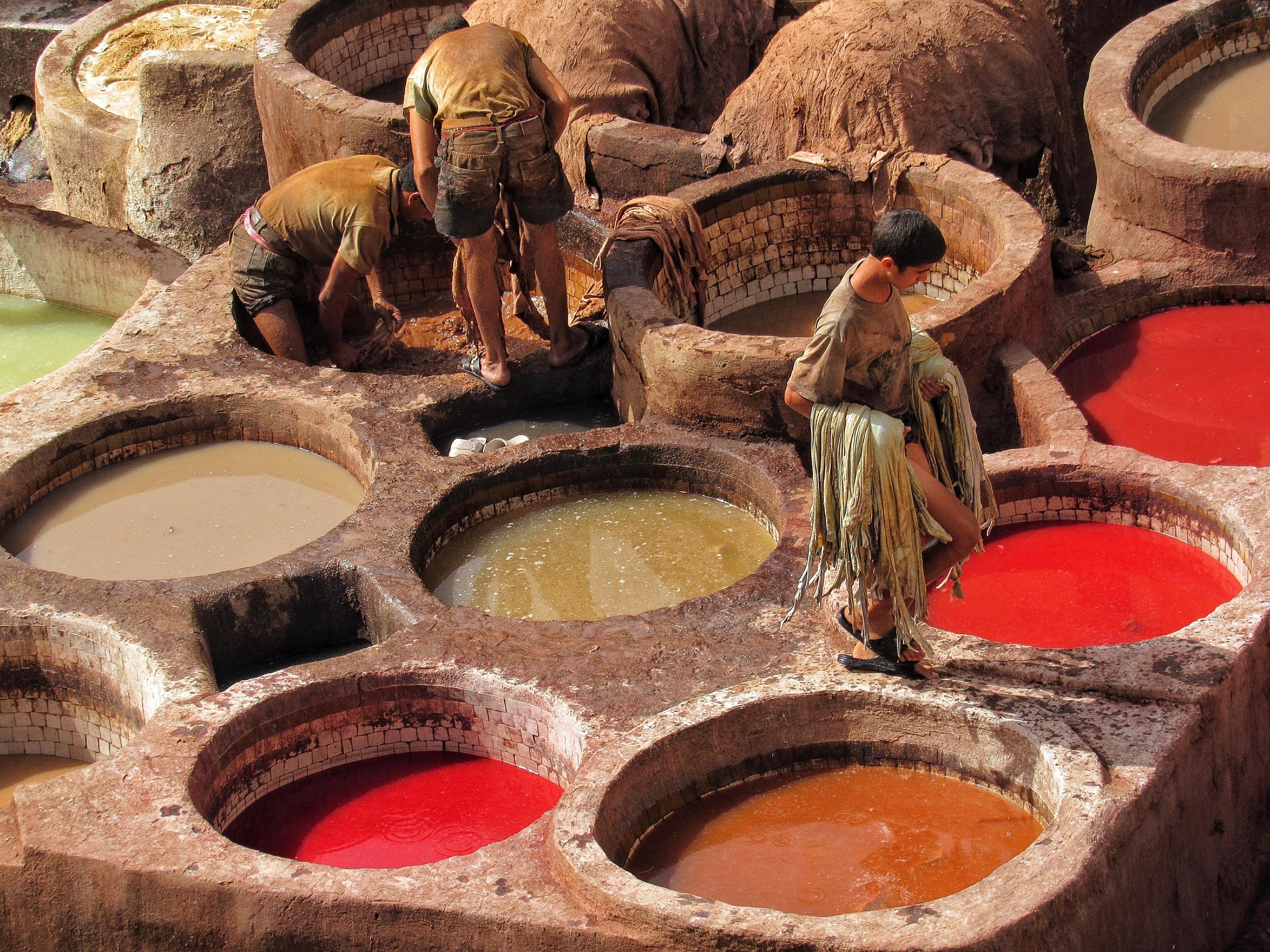 Marocco Fes conceria