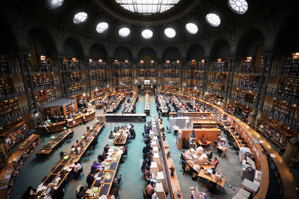 Readingroom Paris
