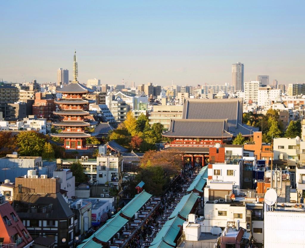 tokyo panoramica