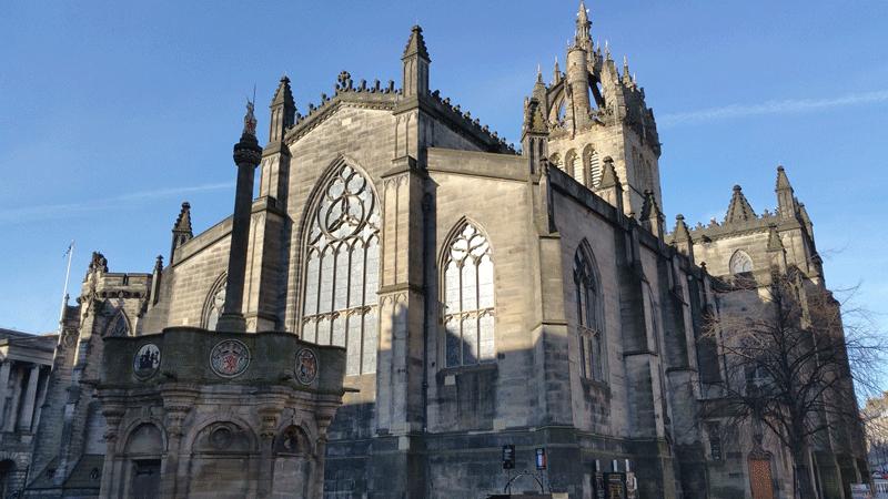 St-Giles-Cathedral edimburgo