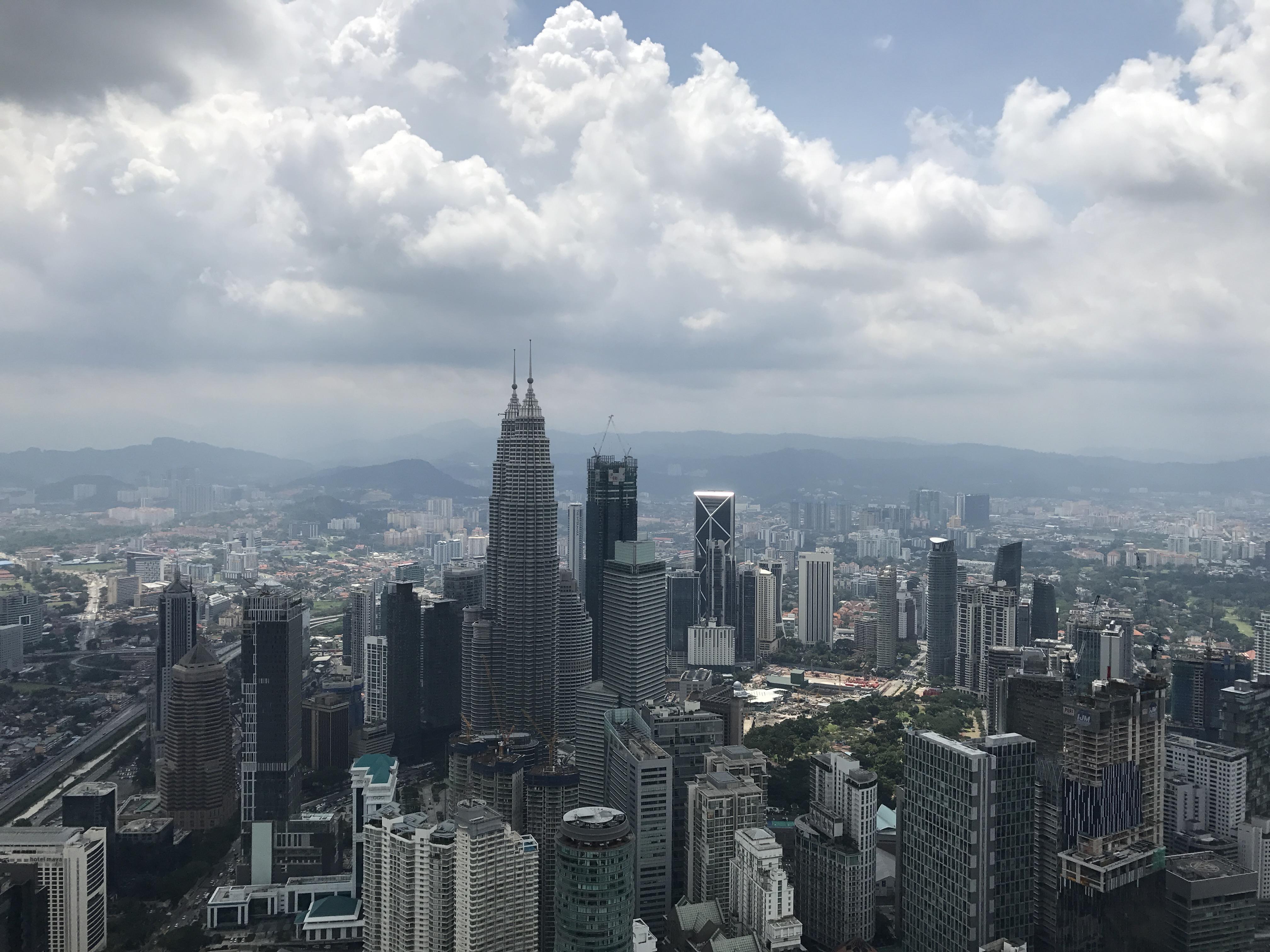 Vista da KL Menara