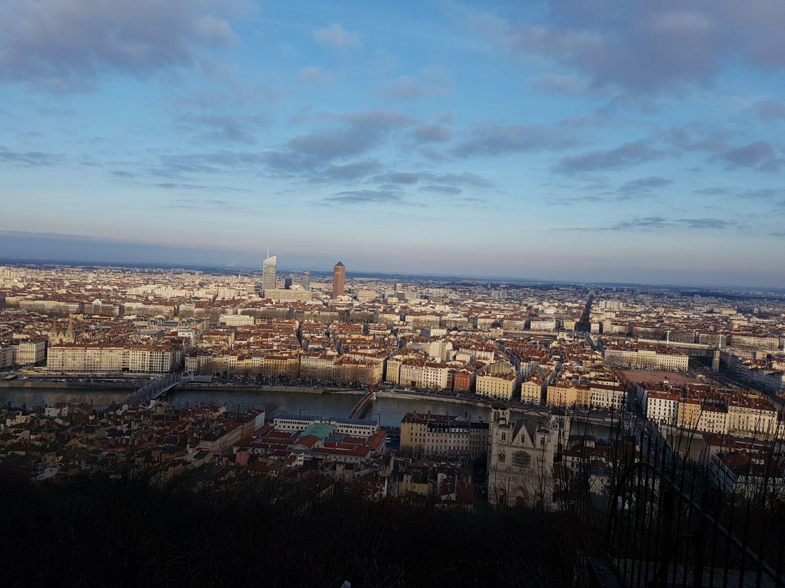 Panorama Lione