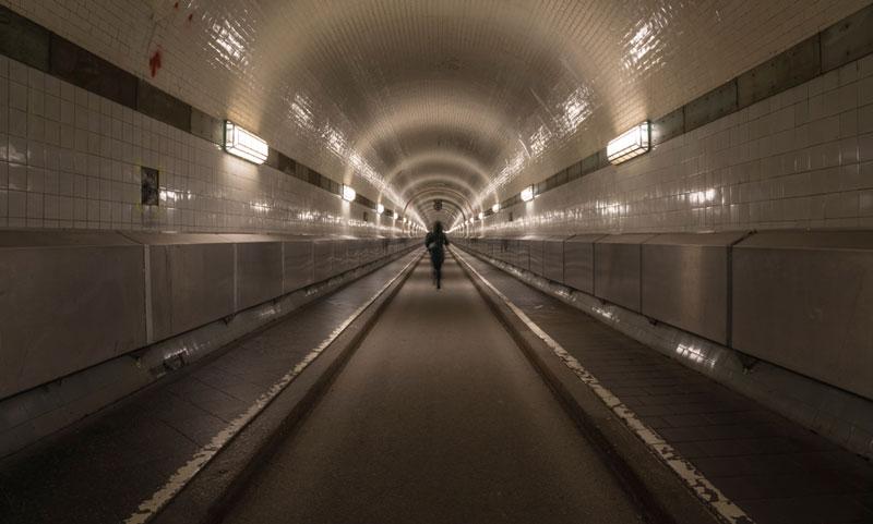 Elbe Tunnel amburgo