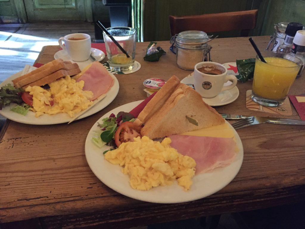 amsterdam colazione uova