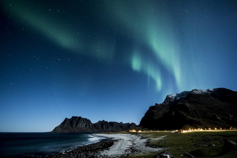 aurora-boreale lofoten norvegia