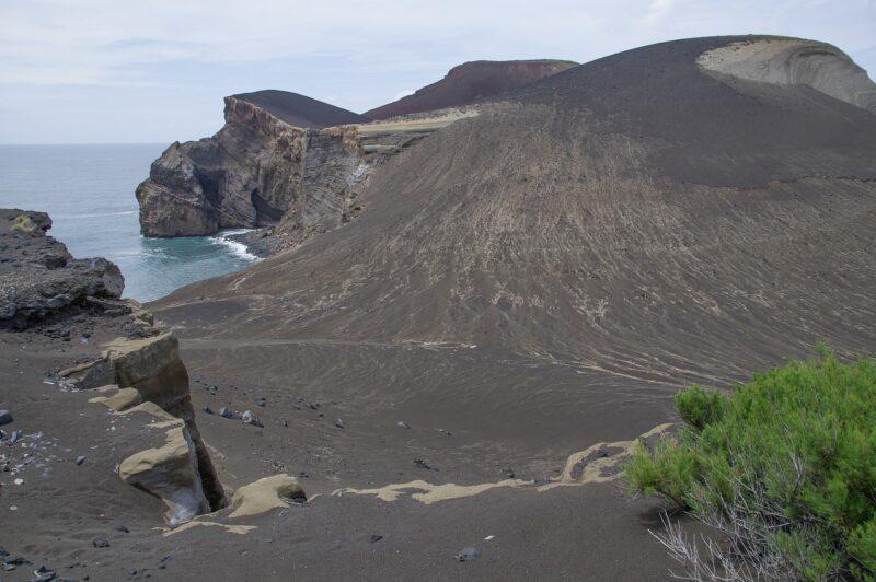 azzorre isola di faial vulcano