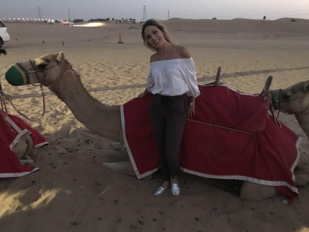 cammello deserto dubai