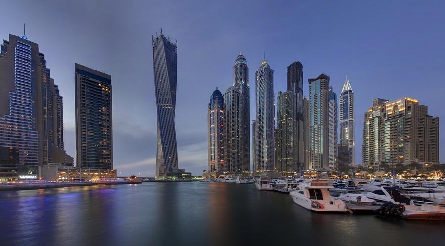 Cayan Tower Dubai: la torre a spirale