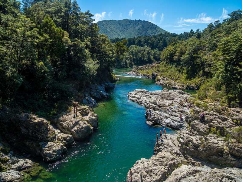 fiume Pelorus nuova zelanda