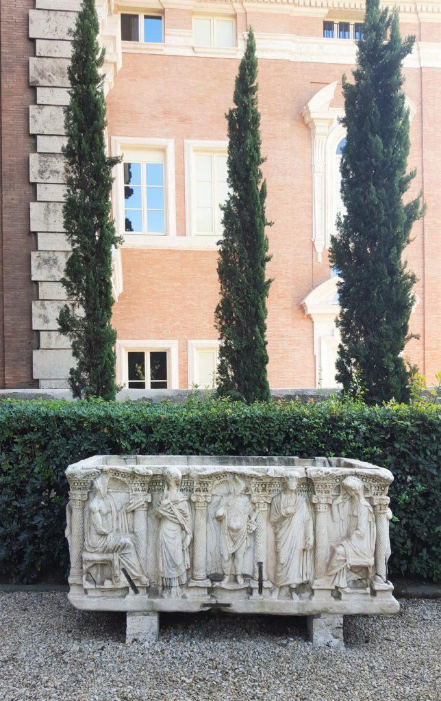 galleria colonna sarcofago
