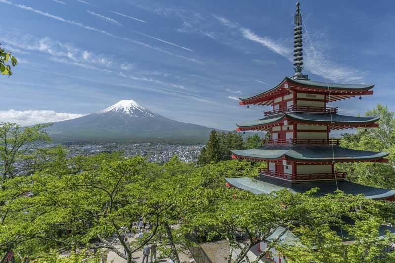 giappone monte fuji