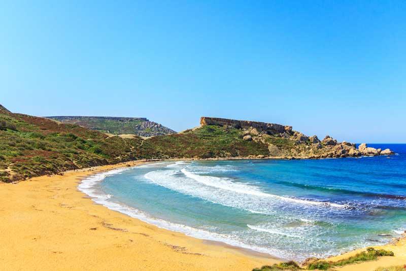 golden beach malta