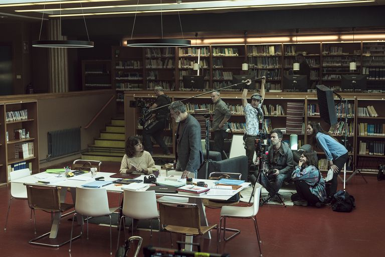 il caos dopo di te luoghi film biblioteca