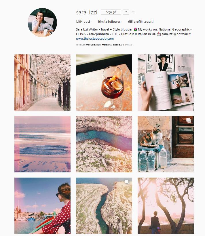 instagram sara izzi