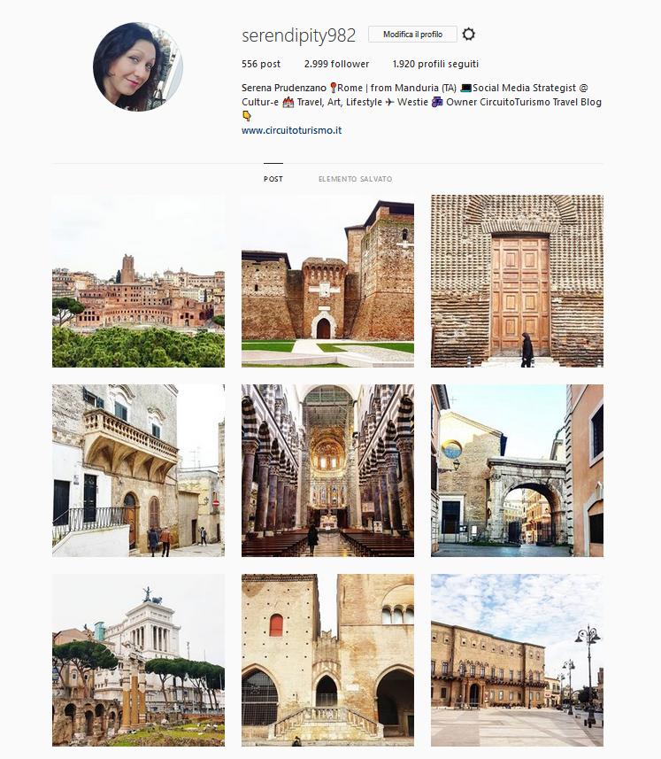 instagram serena circuito turismo