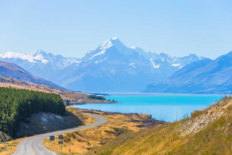 lago Pukaki nuova zelanda