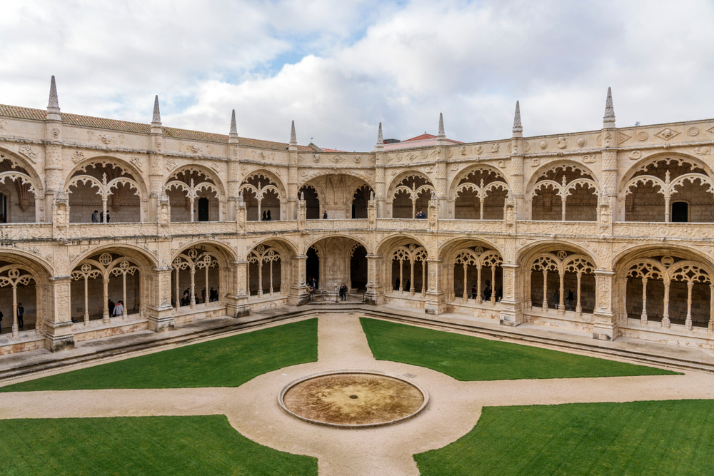 lisbona monastero interno