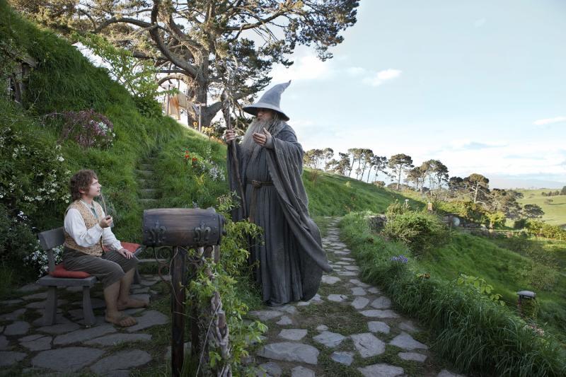 lo hobbit luoghi del film