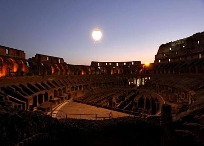 La Luna sul Colosseo: apertura 2014