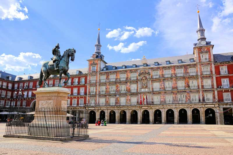 madrid plaza major