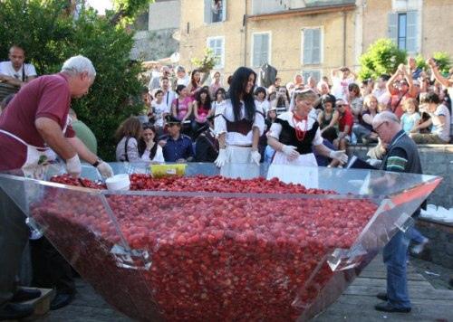 Nemi sagra delle fragole e festa dei fiori, 2-3 giugno 2012