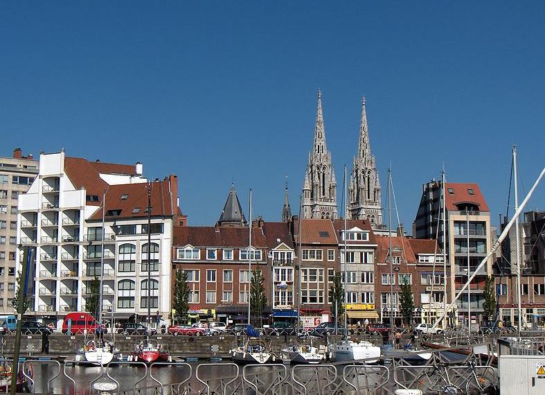 Oostende - vista dal porto