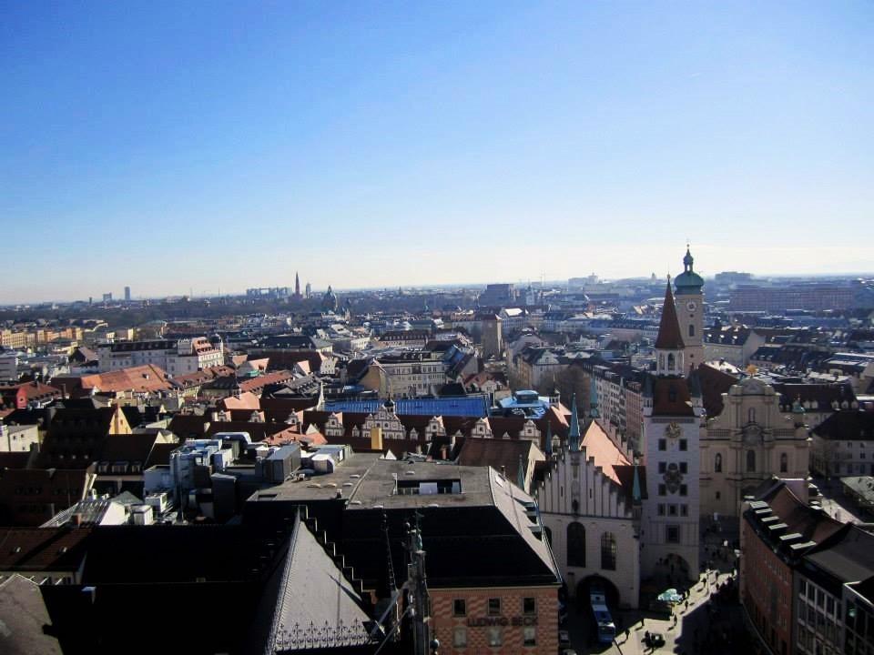 panorama dalla torre nuovo municipio