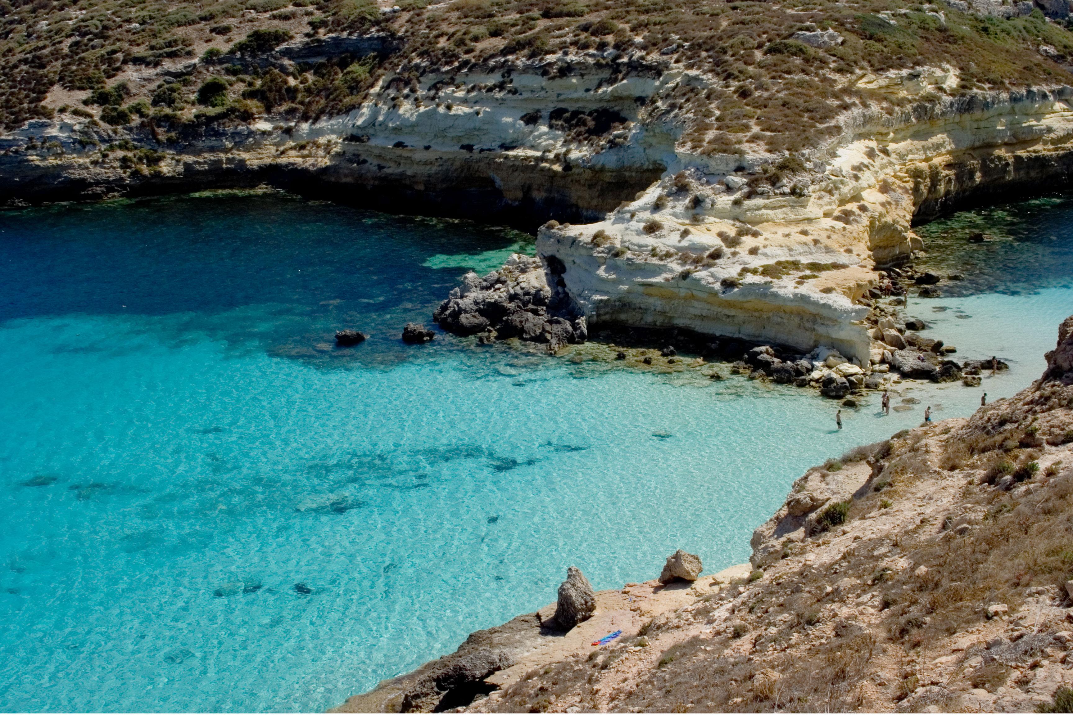 Le spiagge più belle di Lampedusa