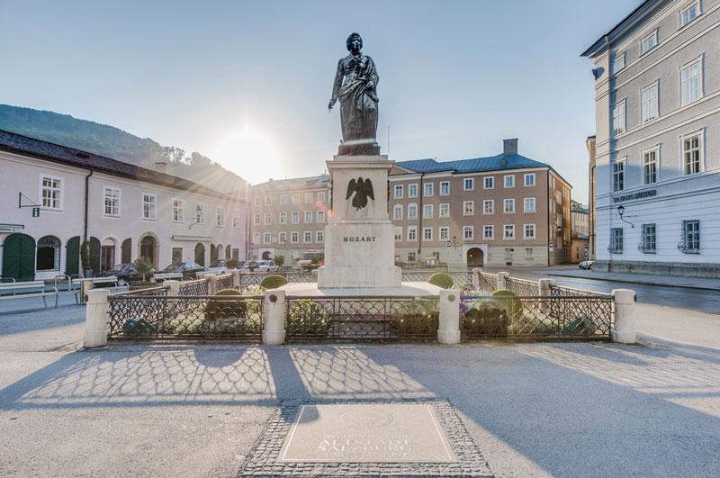 salisburgo mozartplatz