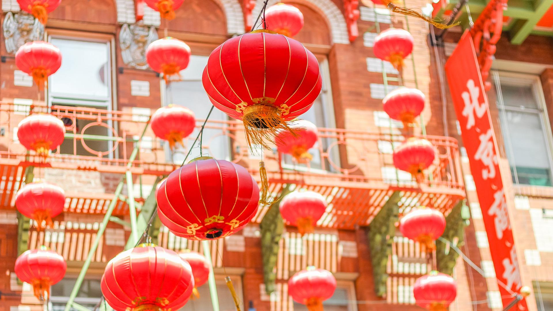 capodanno cinese lanterne