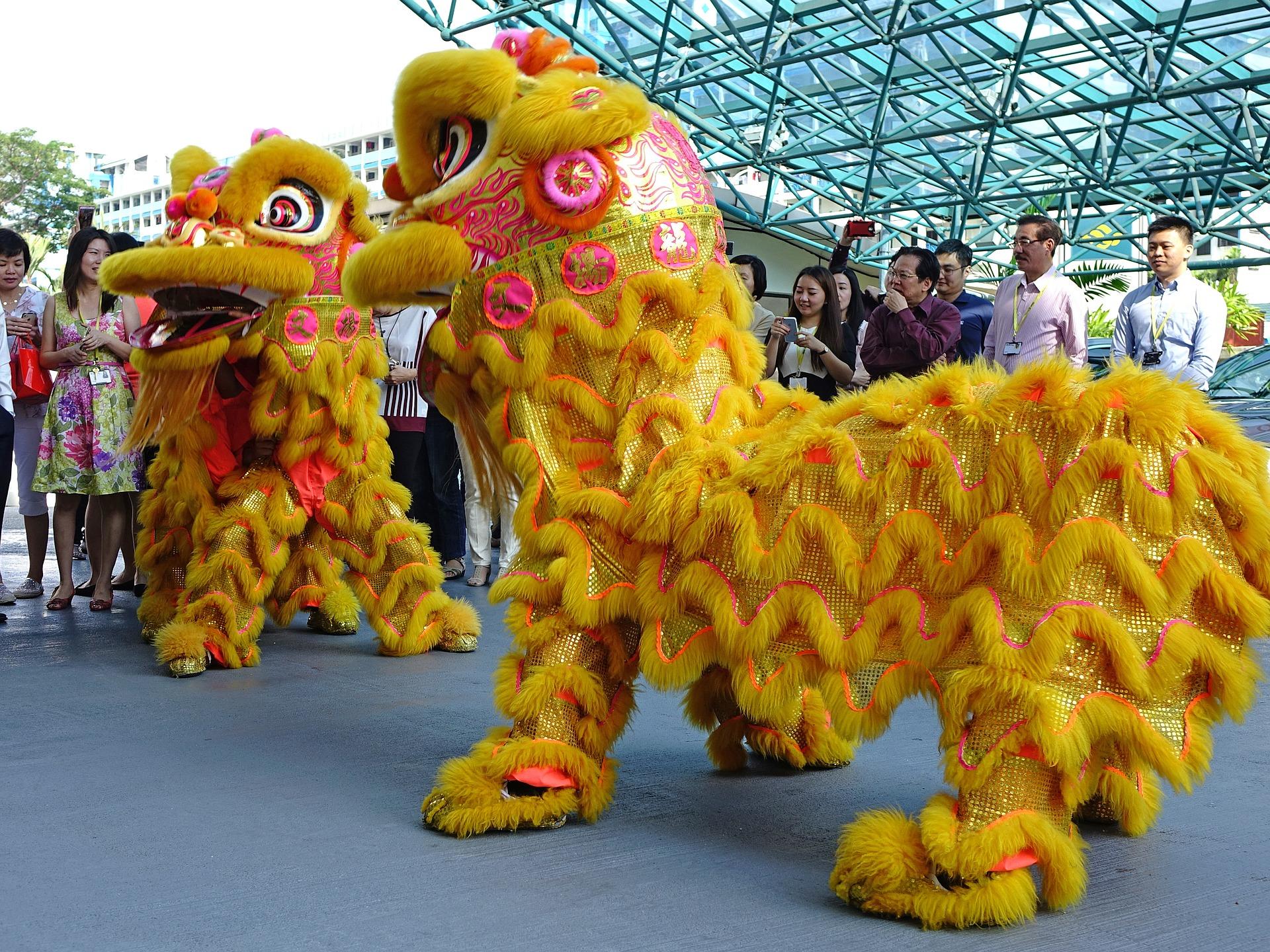 capodanno cinese leone