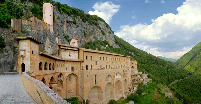 subiaco monastero benedettino