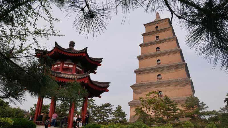 Xi an pagoda