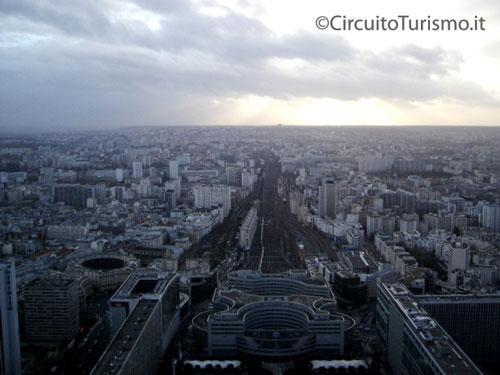 vista tour de montparnasse